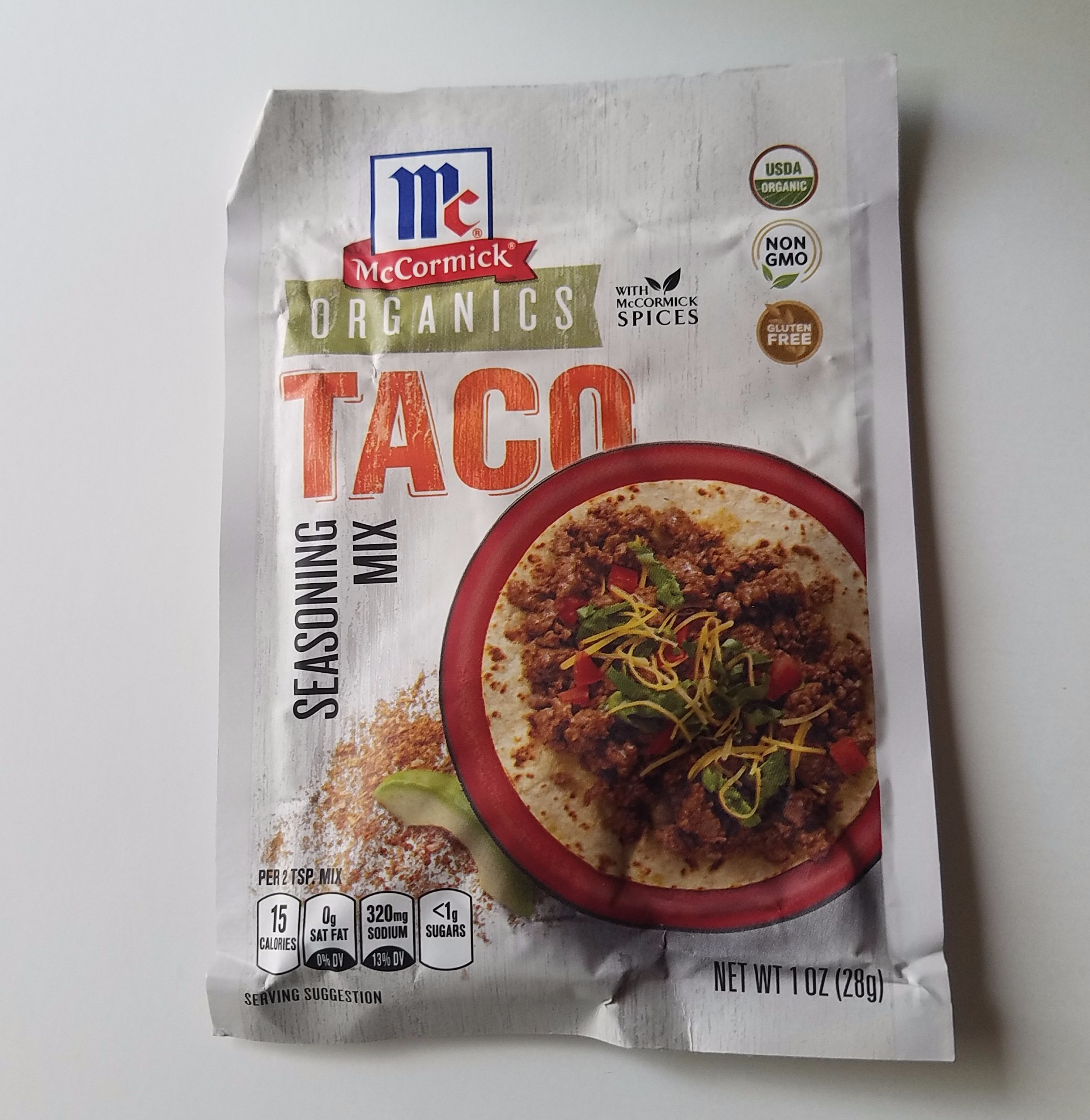 McCormick Organics Taco Seasoning Mix